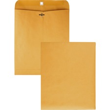 QUA 37895 Quality Park Gummed Kraft Clasp Envelopes QUA37895