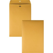 QUA 37898 Quality Park Gummed Kraft Clasp Envelopes QUA37898