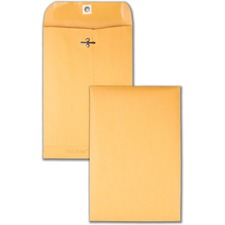 QUA 43055 Quality Park Park Ridge Kraft Clasp Envelopes QUA43055
