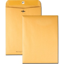 QUA 43090 Quality Park Park Ridge Kraft Clasp Envelopes QUA43090