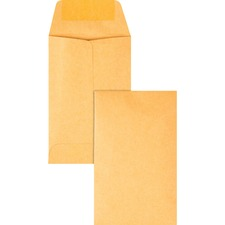 QUA 50160 Quality Park Kraft Coin Envelopes QUA50160