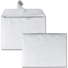 QUA R2860 Quality Park Tyvek Plain Booklet Envelopes QUAR2860