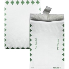 QUA R4510 Quality Park Tyvek Open-End 1st Class Envelopes QUAR4510