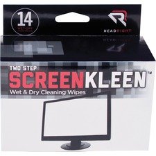 REA RR1205 Read/Right Kleen & Dry Screen Cleaners REARR1205