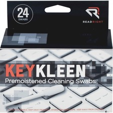 REA RR1243 Read/Right Pre-Moistened KeyKleen Swabs REARR1243