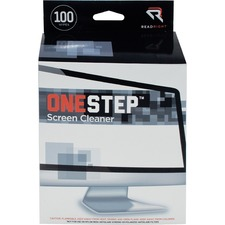 REA RR1309 Read/Right One-Step Screen Cleaning Wipes REARR1309
