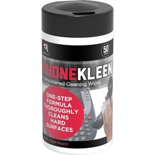 Read Right PhoneKleen Antibacterial Wipes - For Telephone - Pre-moistened