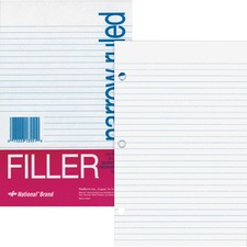 RED 13551 Rediform Standard Ruled Filler Paper RED13551