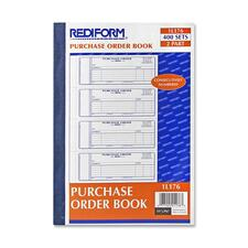RED 1L176 Rediform 2-Part Purchase Order Book RED1L176