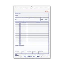RED 2L260 Rediform Carbonless Receiving Record Slip Book RED2L260