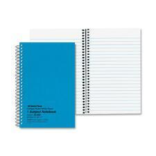 RED 33502 Rediform Kolor-Kraft 1-Subject Notebooks RED33502