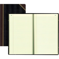 RED 57151 Rediform Texhide Cover Record Books w/ Margin RED57151