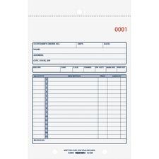 RED 5L350 Rediform 3-Part Carbonless Sales Form RED5L350