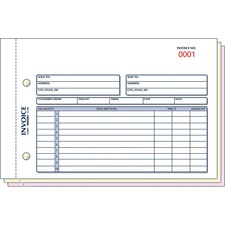 RED 7L706 Rediform Carbonless Invoices RED7L706