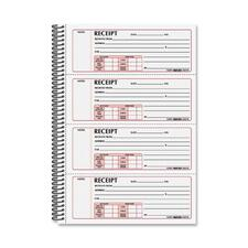 RED 8L810 Rediform Money Receipt Book RED8L810