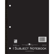 ROA 20195 Roaring Spring 1-Subject Tapebound Notebooks ROA20195