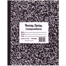ROA 77505 Roaring Spring Tape Bound Composition Notebooks ROA77505