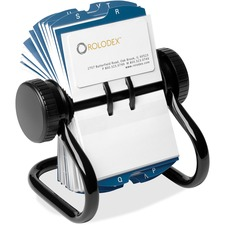 Rolodex Rotary A-Z Index Business Card Files