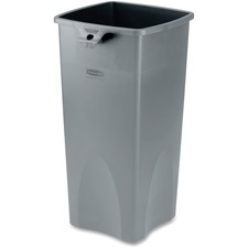RCP 356988GY Rubbermaid Comm. Untouchable Square Container RCP356988GY