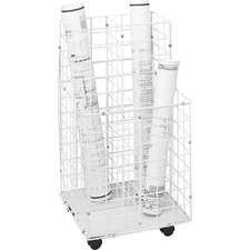 Safco 4 Compartments Wire Storage File
