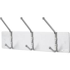 SAF 4161 Safco 3-hook Wall Rack Coat Hook SAF4161
