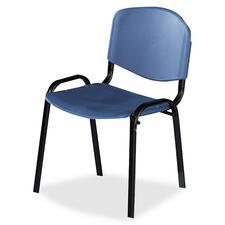 SAF 4185BU Safco Contour Stack Chairs SAF4185BU