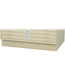 SAF 4997TSR Safco 5-Drawer Steel Flat File SAF4997TSR