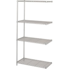 SAF 5286GR Safco 1250 lb. Shelf Capacity Wire Shelving  SAF5286GR