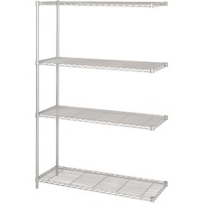 SAF 5292GR Safco 1000 lb. Shelf Capacity Wire Shelving  SAF5292GR