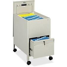 SAF 5364PT Safco Letter Size Locking Rollaway Tub File SAF5364PT