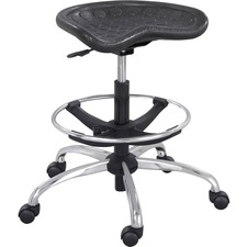 SAF 6660BL Safco Sitstar Height Adjustable Stool SAF6660BL