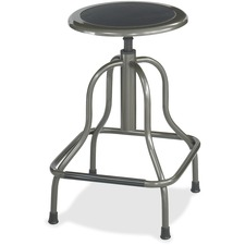 SAF 6665 Safco Diesel Series High Base Stool w/o Back SAF6665