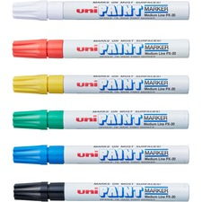 SAN 63630 Sanford Uni-Paint Oil-Base Medium Line Markers SAN63630
