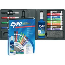 SAN 80054 Sanford Expo Low-Odor Dry-erase Marker Kit SAN80054