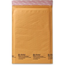 "Sealed Air Jiffylite Size 5 Cellular Cushioned Mailer - Bulk-packed - Bubble - #5 - 10 1/2"" Width x 16"" Length - Peel & Seal - Kraft - 80 / Carton - Kraft"