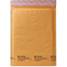 "Sealed Air JiffyLite Cellular Cushioned Mailers - Bubble - #7 - 14 1/4"" Width x 20"" Length - Peel & Seal - Kraft - 50 / Carton - Kraft"
