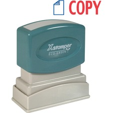XST 2022 Xstamper Red/Blue COPY Title Stamp XST2022