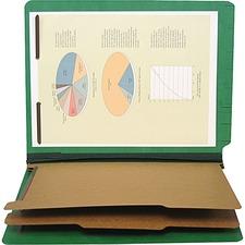"SJP S60431 SJ Paper 6-part 2-1/4"" Exp Classification Folders SJPS60431"