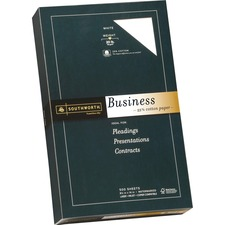 SOU 403E Southworth 25% Cotton Business Paper  SOU403E