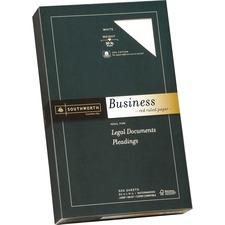 SOU 403ER Southworth Red Ruled Business Paper SOU403ER