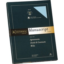SOU 41SM Southworth 25% Cotton Manuscript Covers SOU41SM