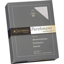 SOU 974C Southworth 24 lb. Parchment Specialty Paper SOU974C