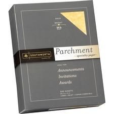 SOU 994C Southworth 24 lb. Parchment Specialty Paper SOU994C