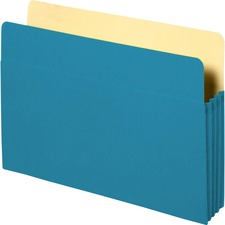 SPR 26550 Sparco Colored Expanding File Pockets SPR26550