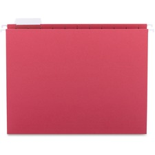 SPR SP5215RED Sparco 1/5-cut Tab Slots Colored Hanging Folders SPRSP5215RED