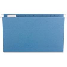 SPR SP5315BLU Sparco 1/5-cut Tab Slots Colored Hanging Folders SPRSP5315BLU