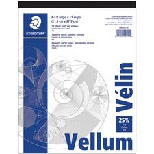 STD 946T811 Staedtler Vellum Paper Pad STD946T811