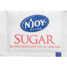 SUG 72101 Sugarfoods N'Joy Sugar Packets SUG72101