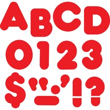 """TEP T432 Trend Reusable 2"""" Ready Alphabet Letters Set TEPT432"""
