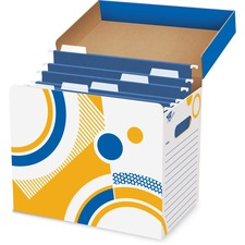 TEP T7001 Trend Fine n Save Folder / File Storage Box TEPT7001